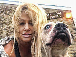 Alaina Rosenblatt with dog